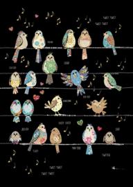 M136 Bird Tweets - BugArt