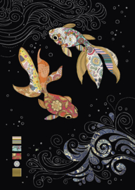 M146 Two Fantail Fish - BugArt