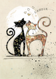 H007 Two Lovecats - BugArt