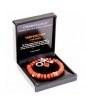 Charmology armband rond - Vriendschap - Rode Jaspis