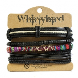 Whirly bird Armband - S108