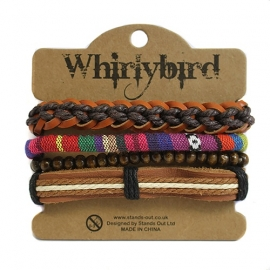 Whirly bird Armband - S68