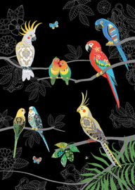 M165 Tropical Birds - BugArt