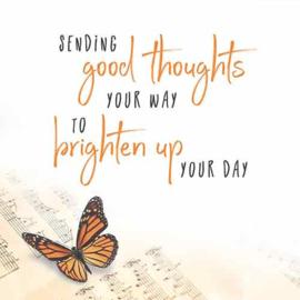Sending good thoughts... - Uit het Hart