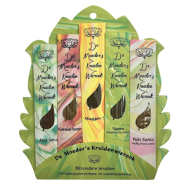 Bijzondere kruiden - 5 geuren x 6 korte stokjes