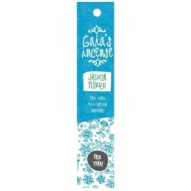 GAIA'S INCENSE FAIR TRADE -  JASMIN FLOWER