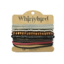 Whirly Bird Armband - S34