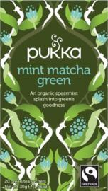 Mint matcha green - Pukka thee