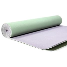 Yoga mat - Yogi & Yogini PVC Deluxe Groen
