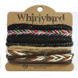 Whirly bird Armband - S101