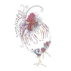 Floral Cockerel