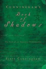 Cunningham's Book of Shadows - Scott Cunningham