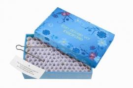 Een doosje vol INSPIRATIE -  blauw