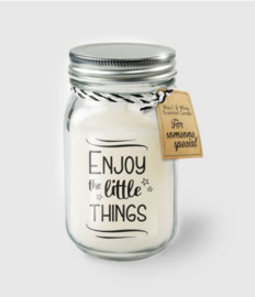 Scented Candles 25 - Enjoy the little things