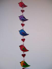Suncatcher mobiel vogeltjes