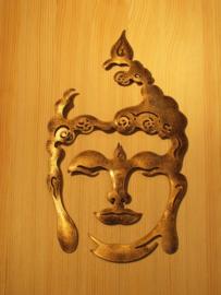 Buddha Wanddecoratie 50cm