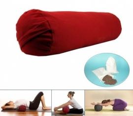 Yoga bolster - Rood