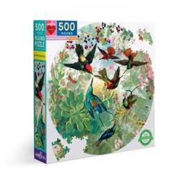 Hummingbirds - 500 - ronde puzzel