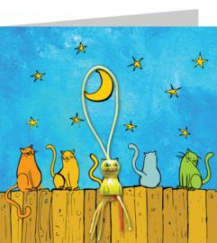 Wenskaart - Katten