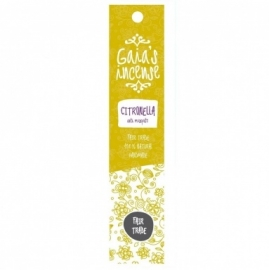 GAIA'S INCENSE FAIR TRADE -  CITRONELLA