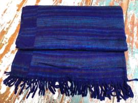 Yoga / Meditatie deken - Donkerblauw