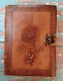 Leatherlook dagboek Dromenvanger