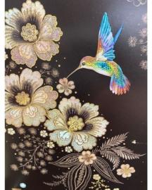 M104 Blue Hummingbird - BugArt