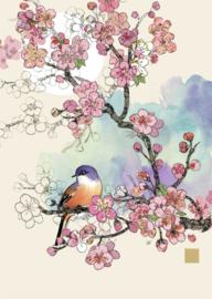 B028 Cherry Blossom Bird - BugArt