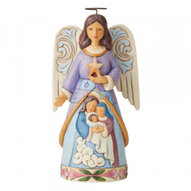 Angel With Holy Family - Jim Shore 6004316