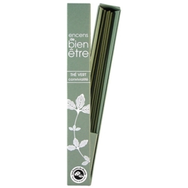 WELL BEING INCENSE GREEN TEA - Intimacy