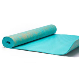 Yoga mat - Yogi & Yogini jute turquoise