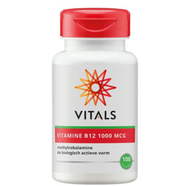 Vitamine B12 methyl 1000 mcg - 100 zuigtabletten
