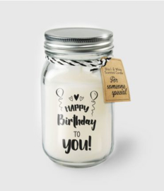 Scented Candles 26 - Happy birthday