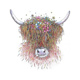 Flora the Highland Cow
