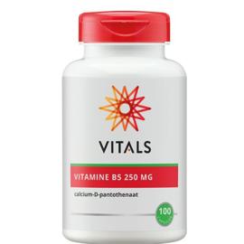 Vitamine B5 250 mg - 100 capsules