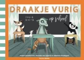 Draakje Vurig op school
