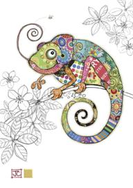 G011 Cosmo Chameleon - BugArt