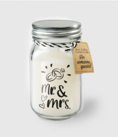 Scented Candles 27 - Mr & Mrs