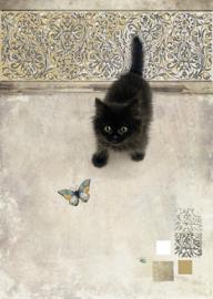 D147 Black Kitten - BugArt
