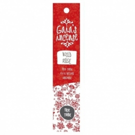 GAIA'S INCENSE FAIR TRADE -  WILD ROSE