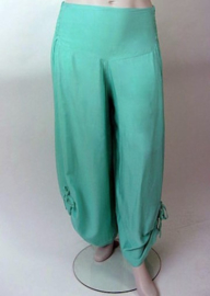 Zomerbroek light mint