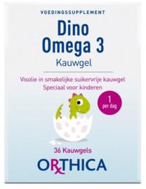 Dino omega 3 kauwgels - 36 stuks