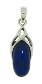 Lapis lazuli hanger / Zilver