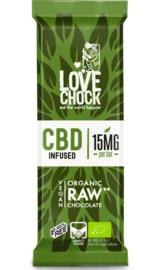 Love Chock - CBD mini tablet - 100% Raw Chocolate