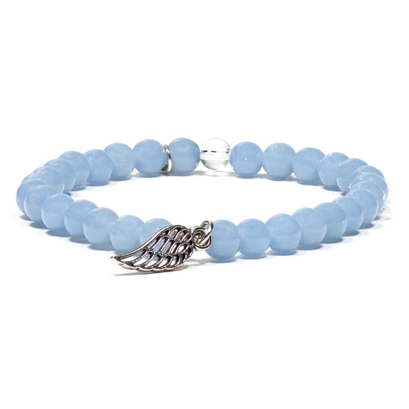 Angeliet armband met engelenvleugel