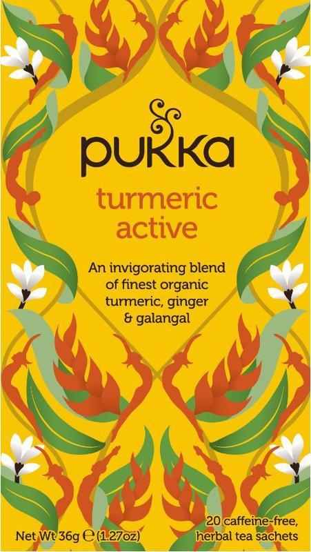 Turmeric Active - Pukka thee