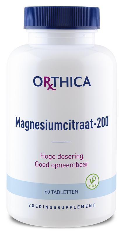 Magnesiumcitraat 200- 60 tabletten