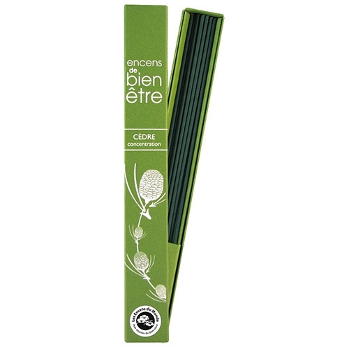 WELL BEING INCENSE CEDAR - Concentration
