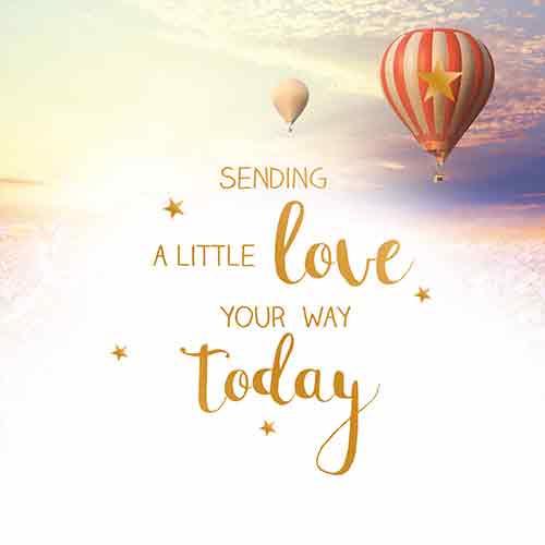 Sending a little love - Uit het Hart