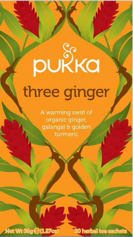 Three Ginger - Pukka thee